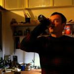 Andreas-bowmaker mit Bier